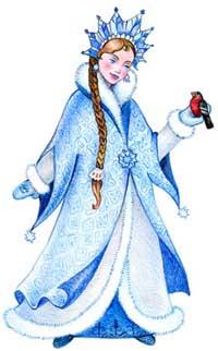 Снегурочка. Загадочные существа. Тайны мифов.